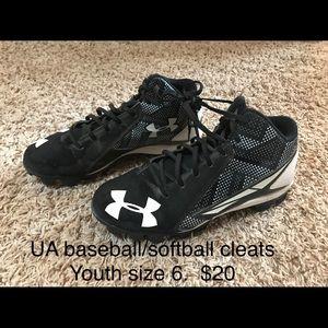 UA Baseball/Softball Cleats